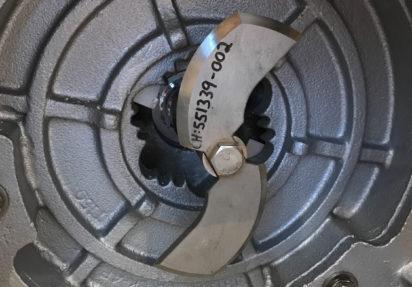 Kuttepumpe for ensilasie i duplex-stål